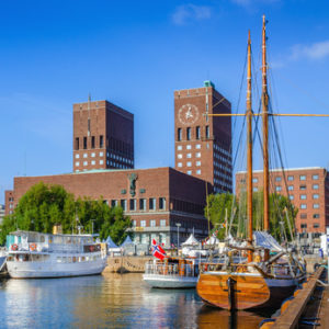 Oslo - Hauptstadt von Norwegen