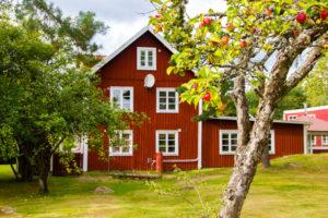Schwedenhaus leben in Schweden